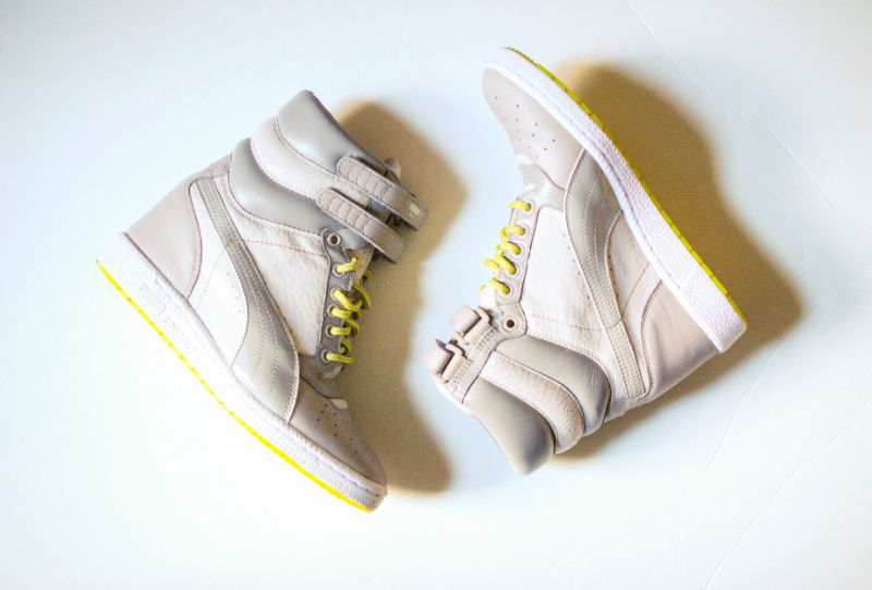 puma sky wedges gray