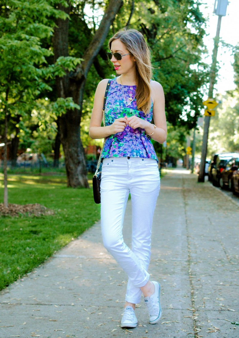 cheap monday white jeans