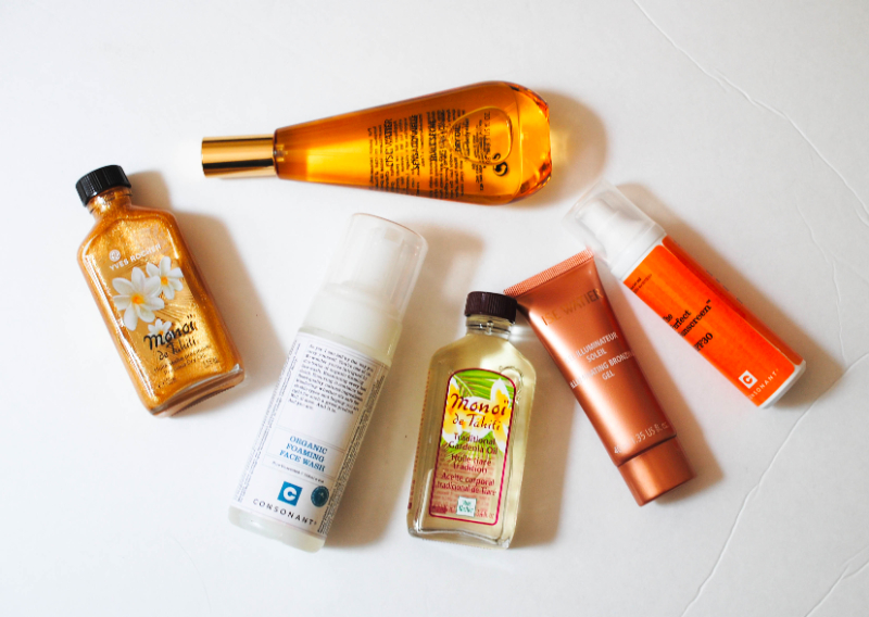 beauty products for a great summer skin