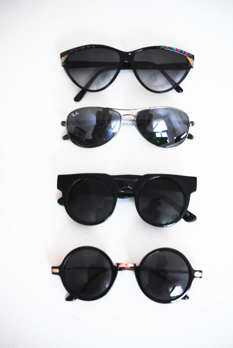 different type of sunglasses