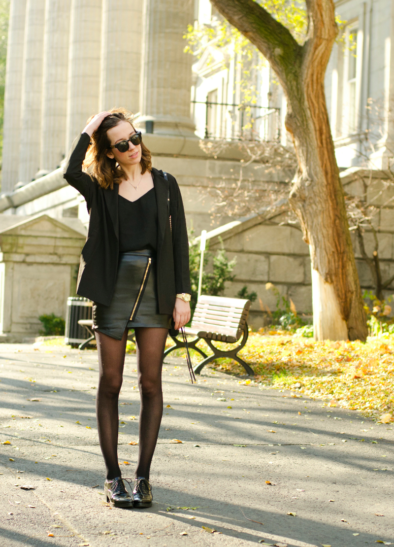 all black outfit stylight contest
