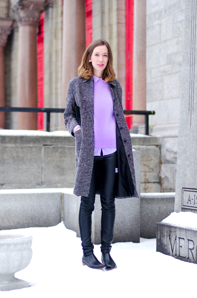 outfit pastel during winter