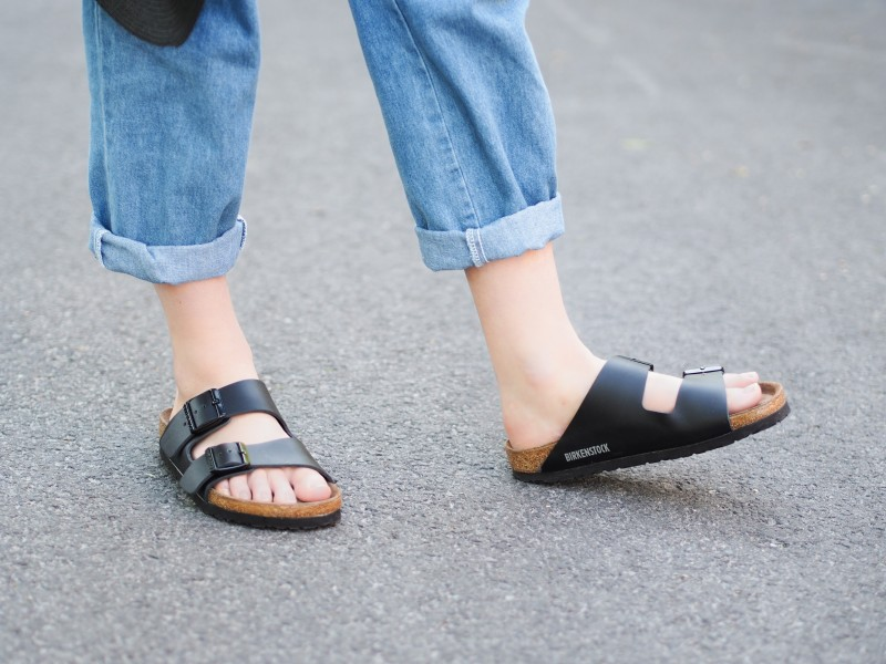 Birken sandals via Capezio Shoes