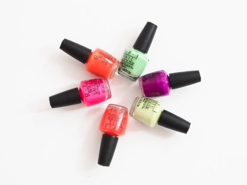 OPI Summer 2014 Neon collection