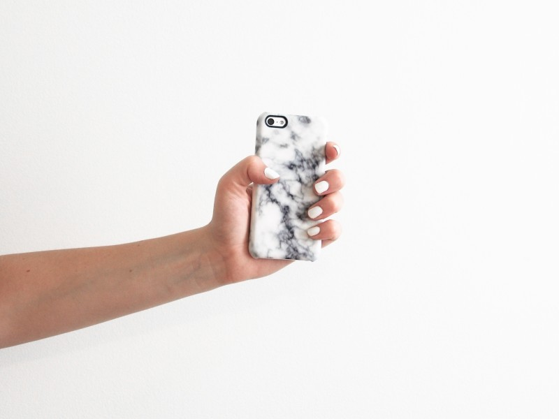 Caseable case for Iphone 5C in Marble