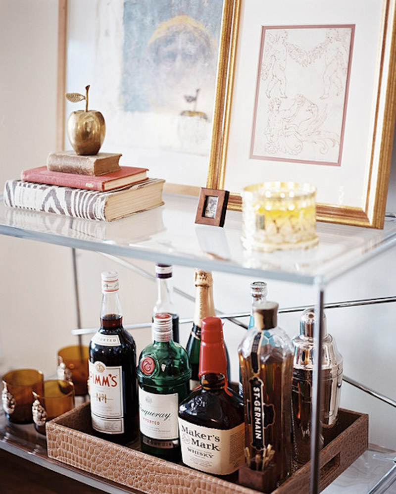 How to decorate a minibar