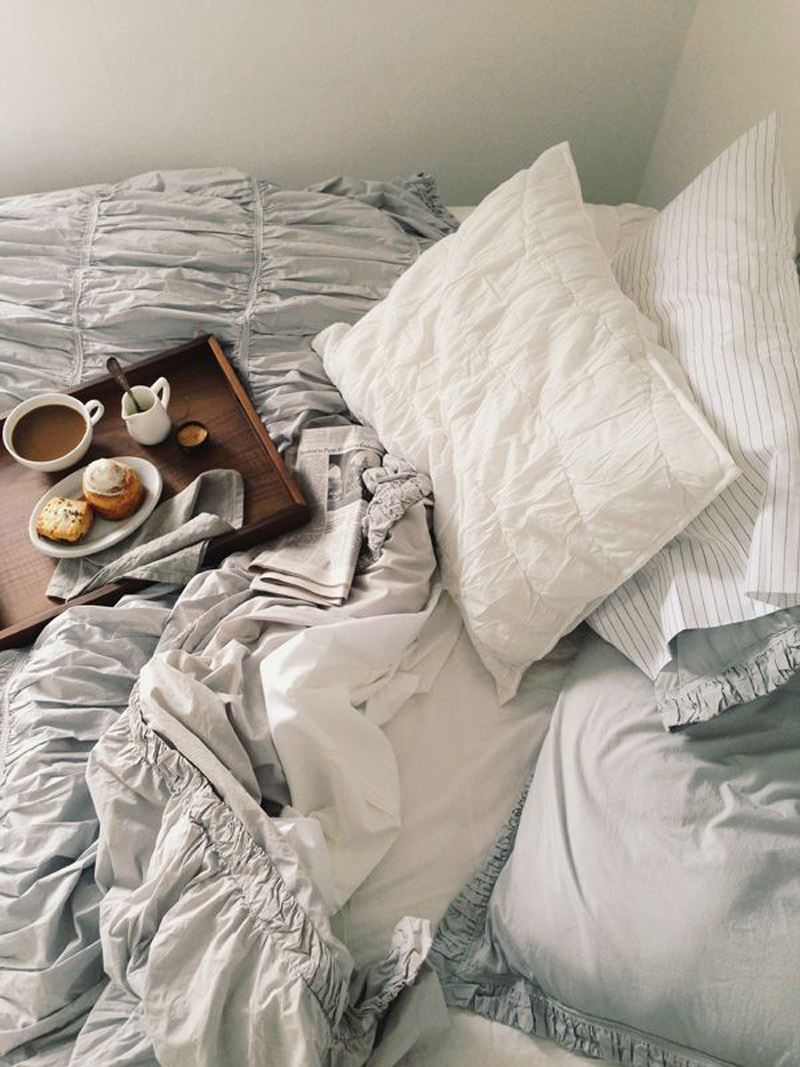 Good Morning Love Bed : This sunday stay in beddentelle fleurs