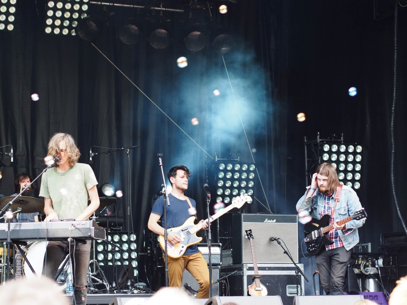 Jimmy Hunt at Osheaga 2014