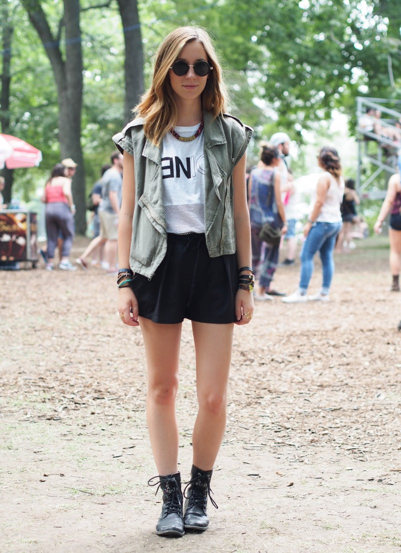 Outfit post from Osheaga 2014