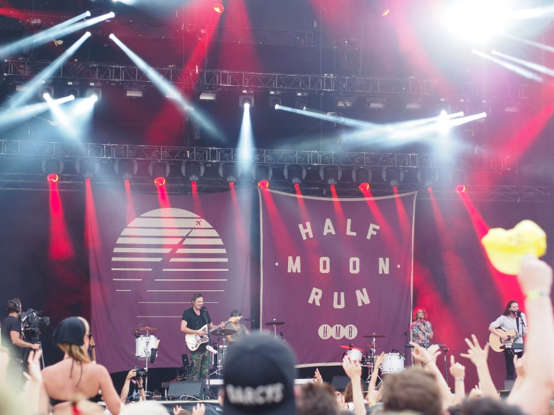 Half moon run show at Osheaga 2014