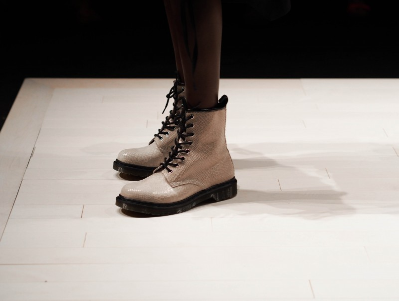 Doc Martens on the runway at FMD