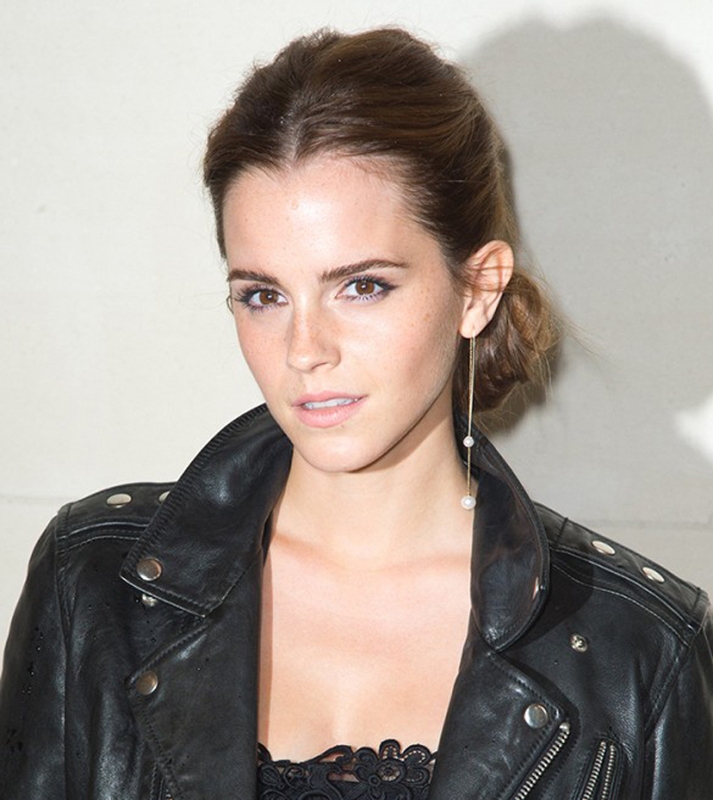 single earring emma watson