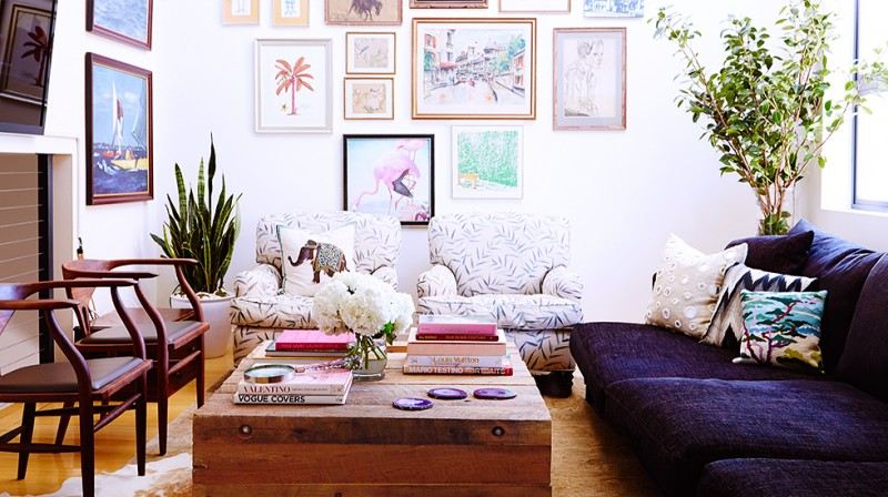 Whitney Port Living room
