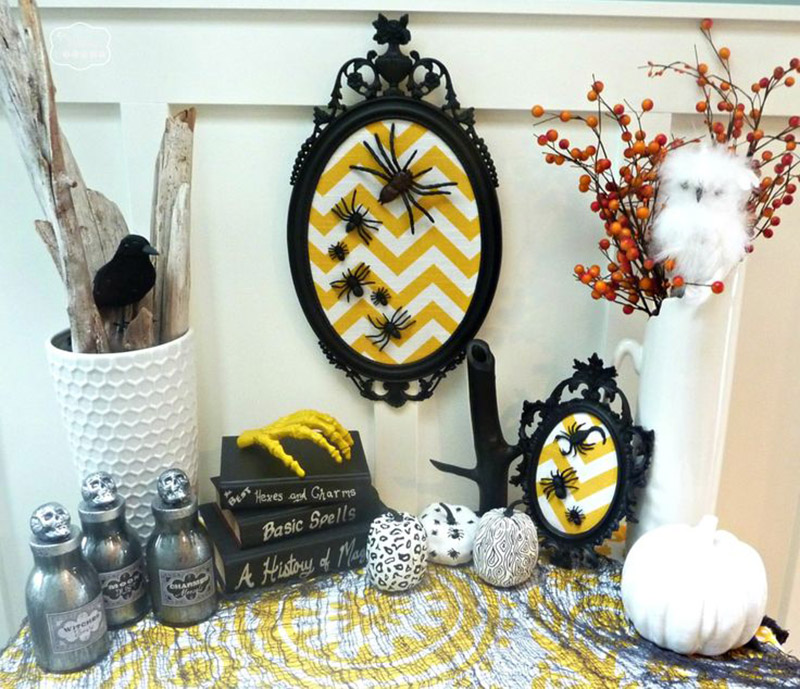 Some ideas how to decorate your Haloween party
