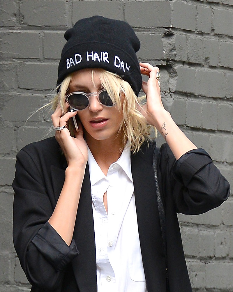 Anja Rubik Steps Out In Poland