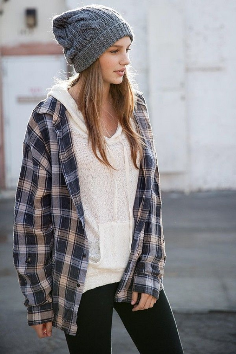 Brixtol veiled beanie beanie croche beanie and plaid ... 1710624e458