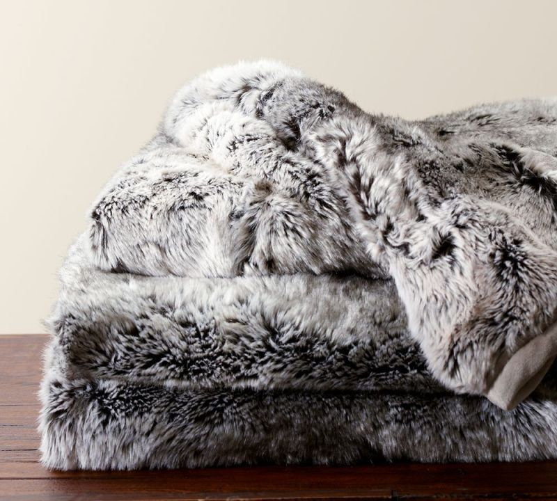 faux fur cozy decor fall winter