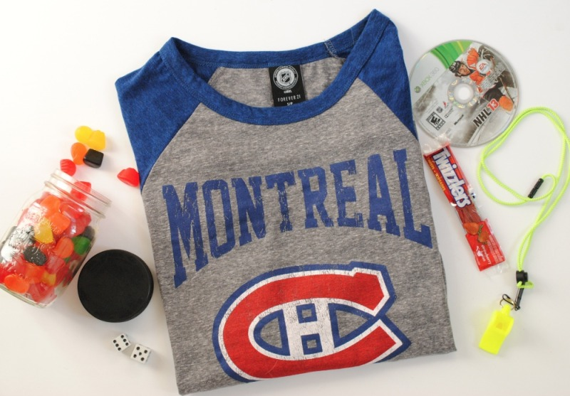 Forever21 NHL shirt collab- Montreal