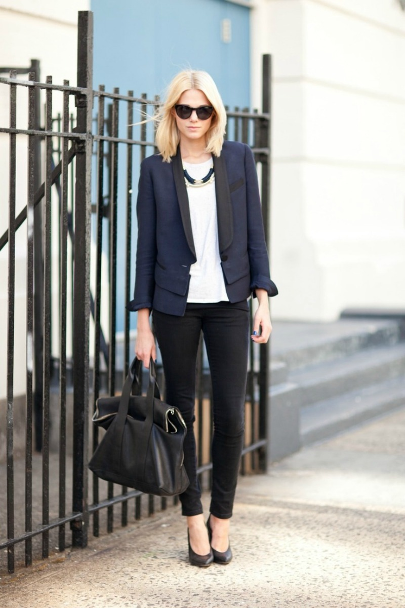 Navy black colors color  fashion rule