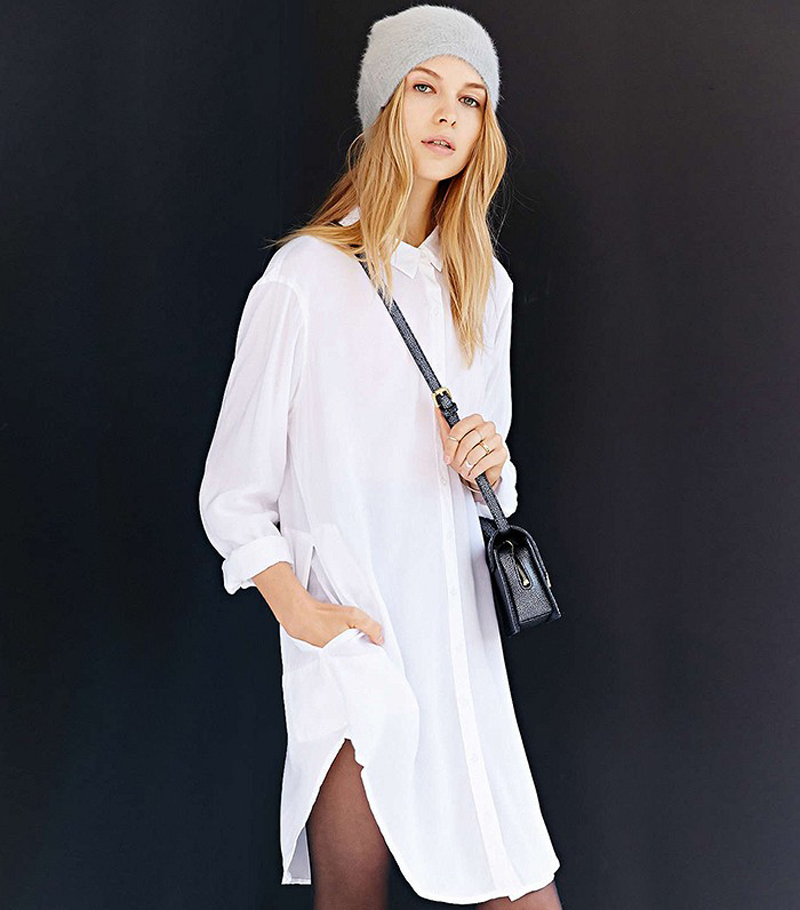 basic shirtdress