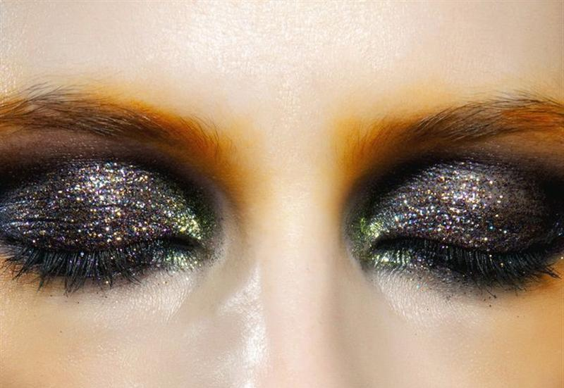 christmas eyes glitter ideas