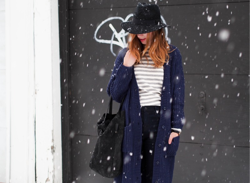snow outfit by gabrielle lacasse