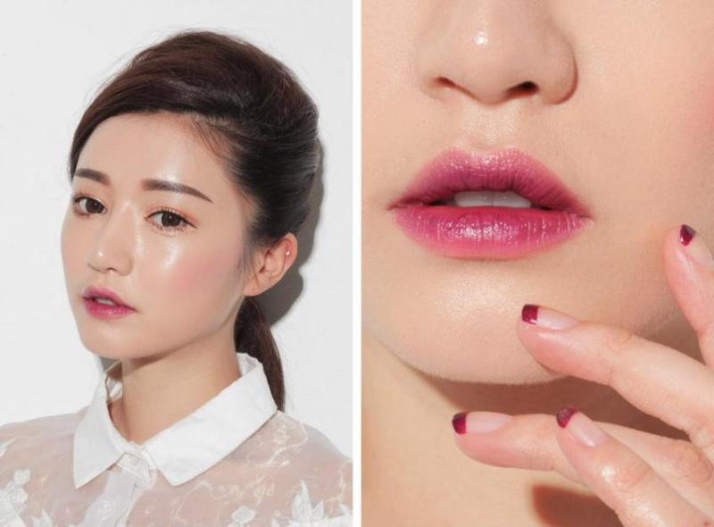 the new way to wear your lipstickdentellefleurs