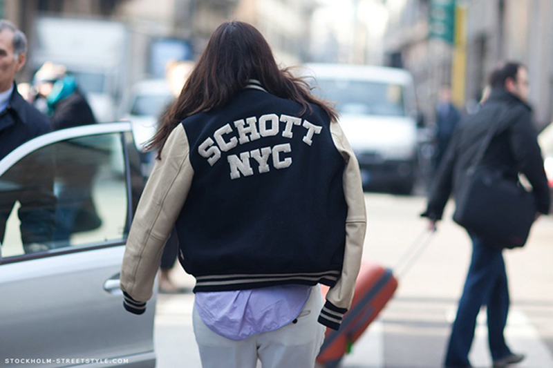 varsity jacket is perfect for winter