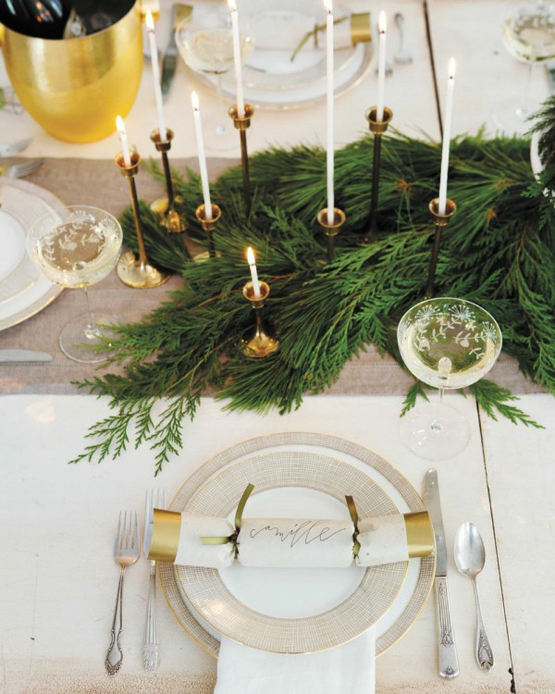 ideas for some christmas center table