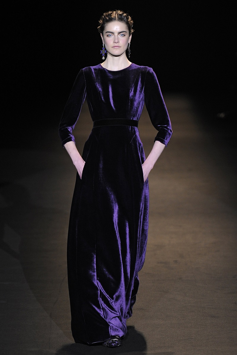 Alberta Ferretti - Runway RTW - Fall 2013 - Milan Fashion Week