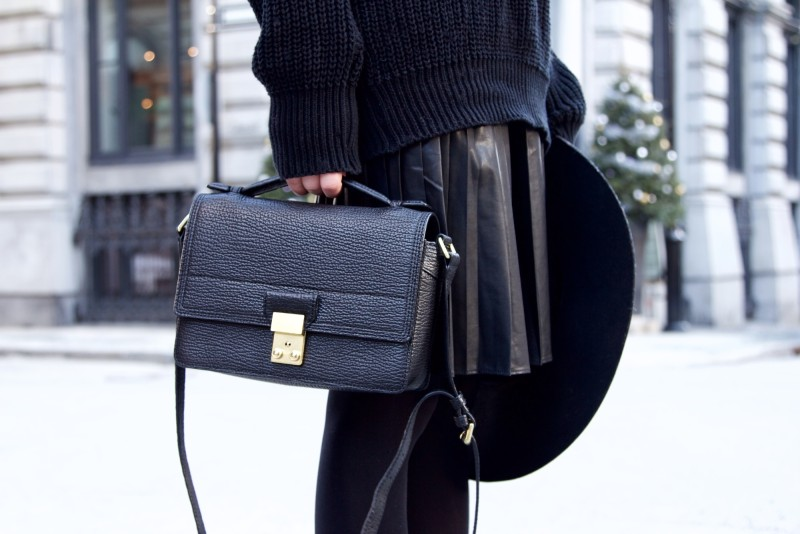 3.1 phillip lim messenger black bag on blogger