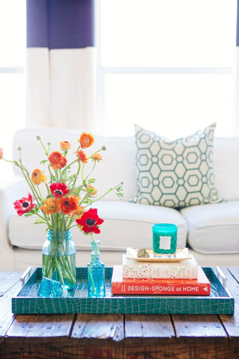 Decorating your place with fresh flowers