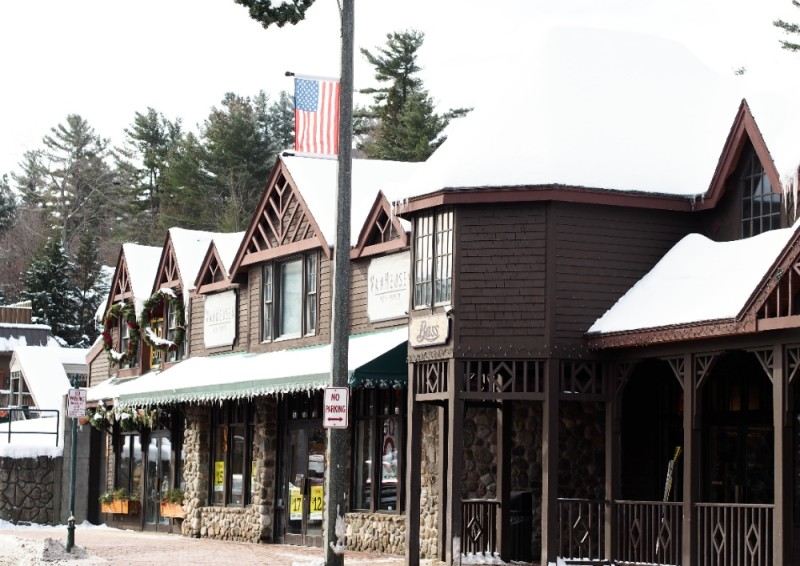 Little town of Lake Placid