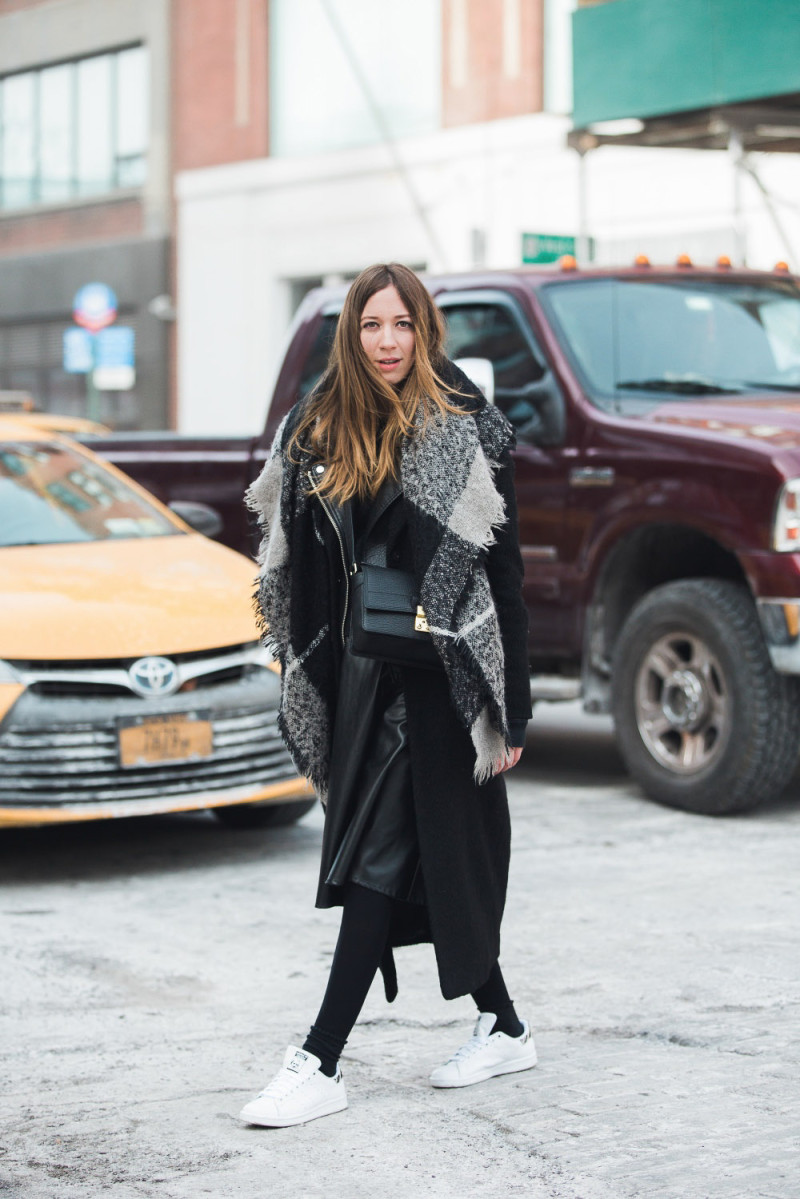 Montreal fashion blogger in NYC for fashion week