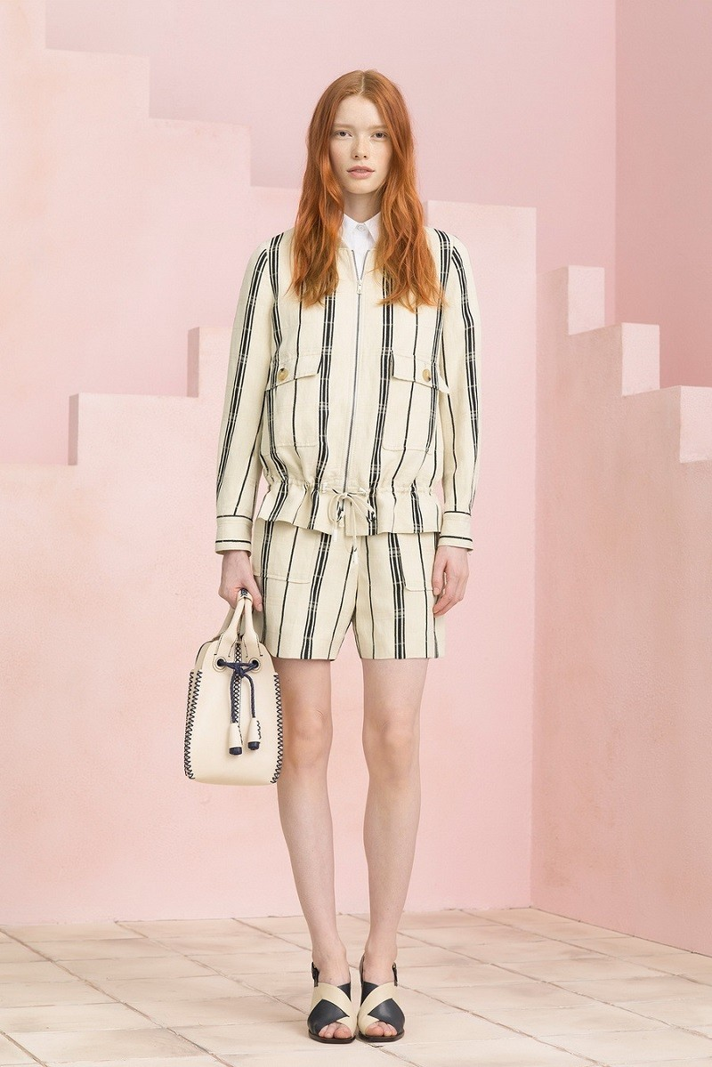 Tory Burch Vertical Stripes