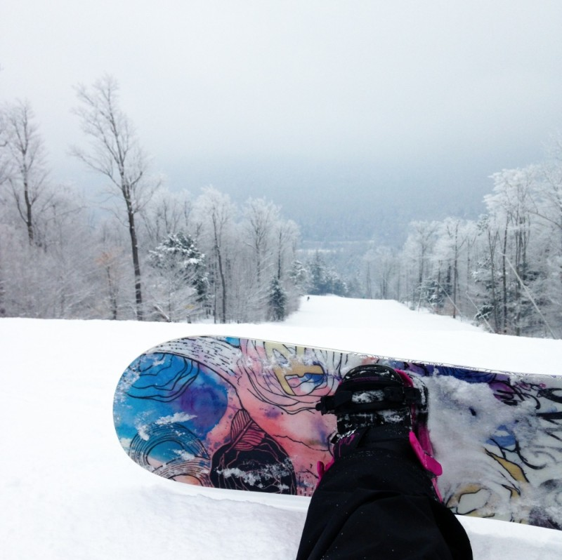 snowboard at whiteface