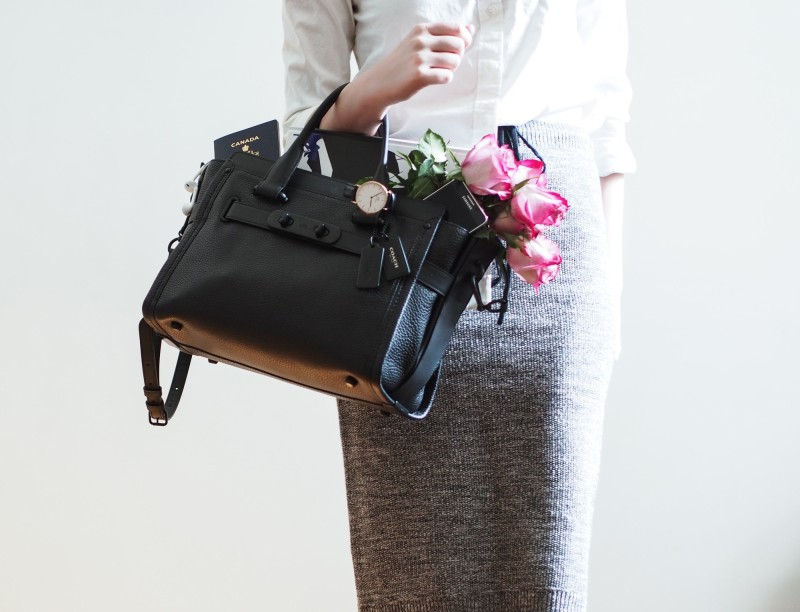Coach #whatsyourswagger campaign swagger bag
