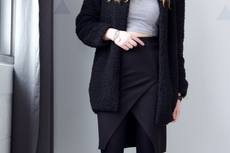 Layered outfit post for Winter