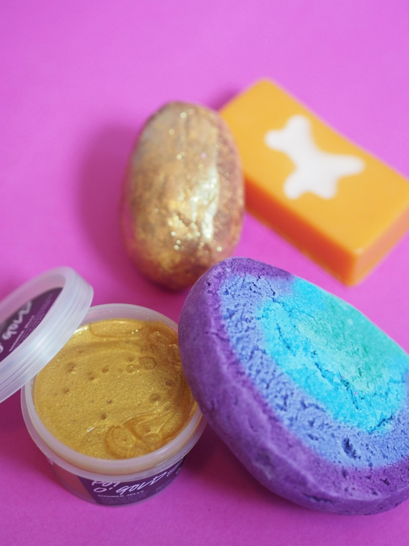 Lush Easter products