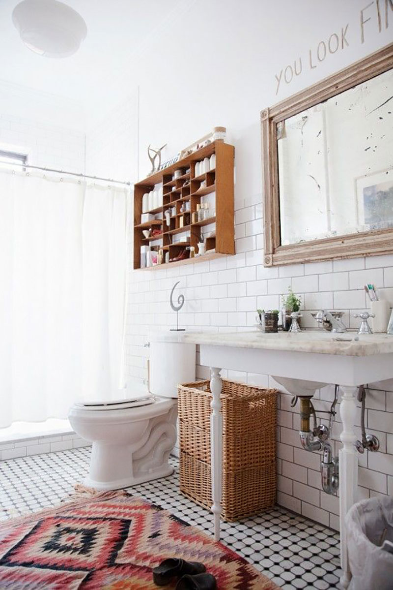 Some beautiful bathrooms to get inspired