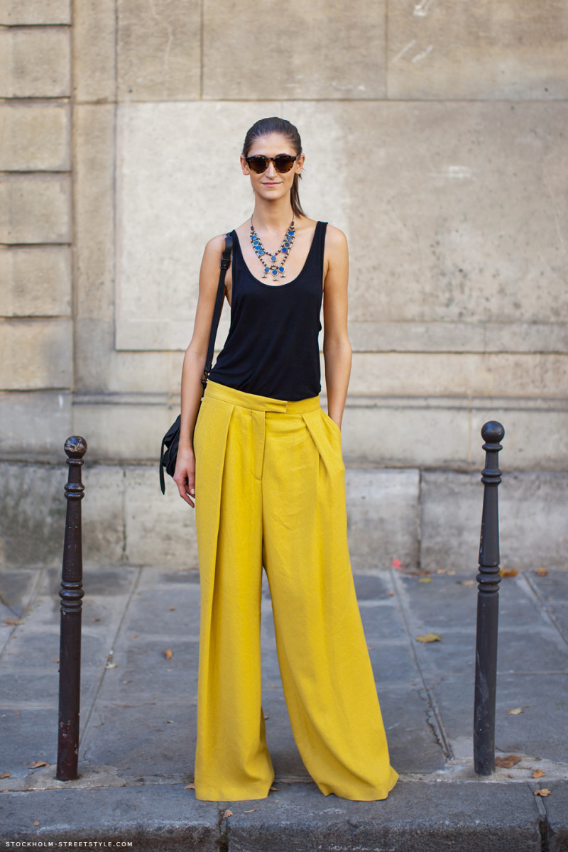 yellow pants summer different ideas look style
