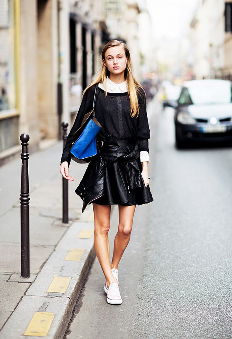 monochromatic look and sneaks