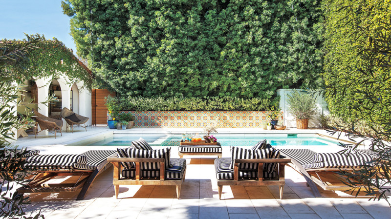 toscany outdoor space