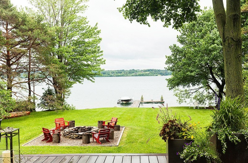 thom filicia weekend house outdoor