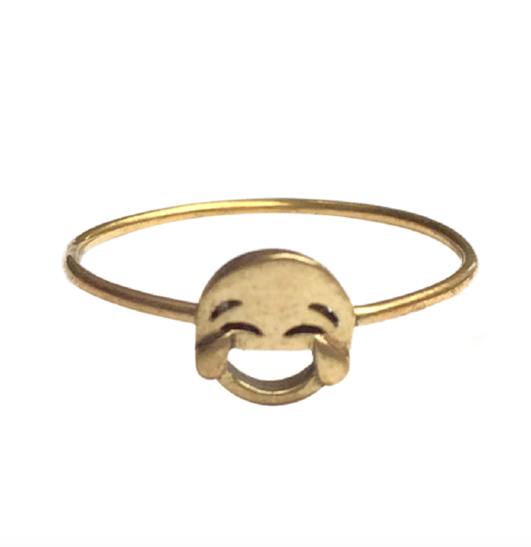 lol emoji ring