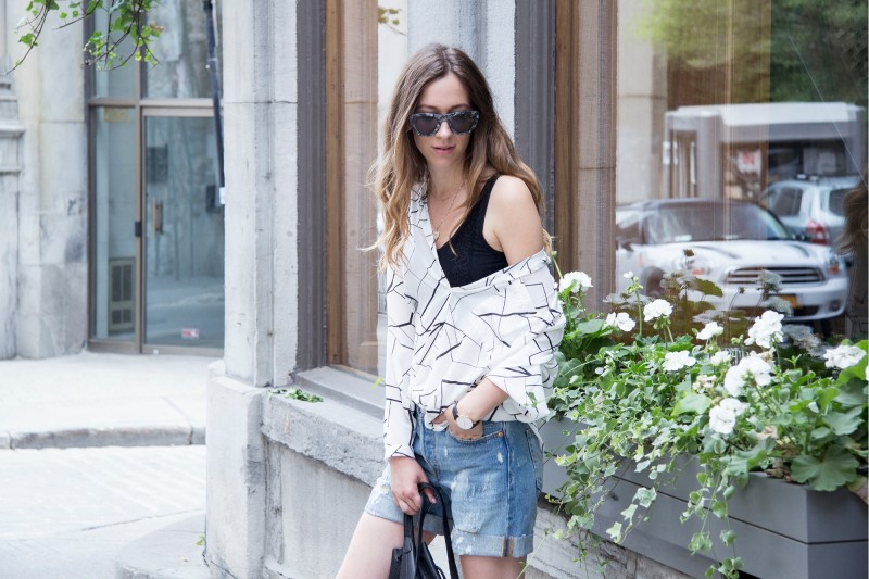 summer outfit post