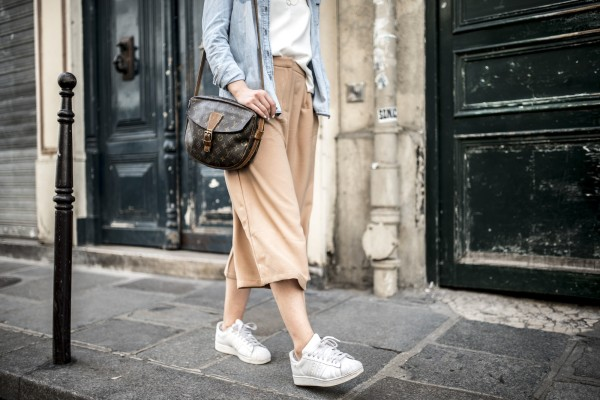 Culottes and old school adidas