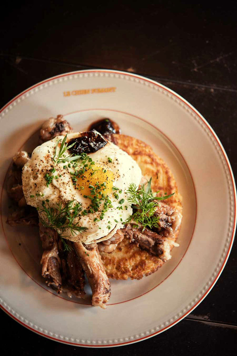 D+F team favourite spots to a brunch in Montreal