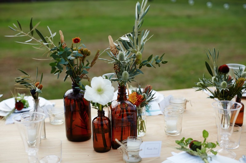 farm table setting