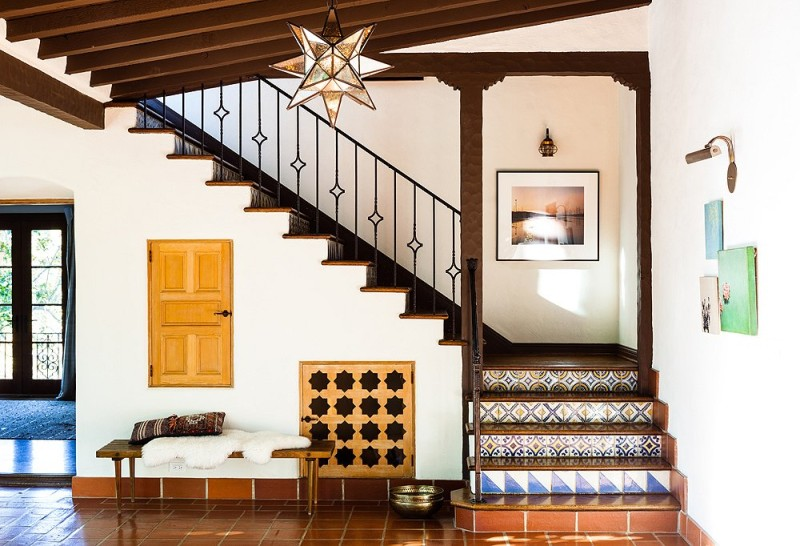Moroccan Inspired Entryway